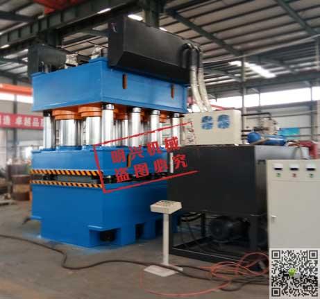 三梁八柱式门板液压机3600吨双动